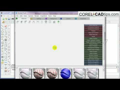 CorelCAD - Creating A 3d Floor Plan