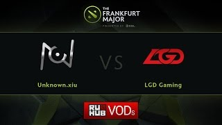 LGD.cn vs unknown.xiu, game 1