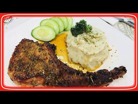 Paleo Diet || EASY Oven Baked Pork Chops Recipe ( Bone-In)