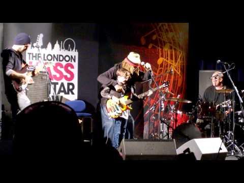 TM Stevens @ London Bass Guitar Show 2014