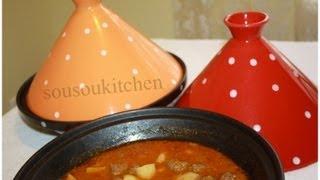Meat Balls Tagineطجين بالكفتة / Tajine De Viande Hachée-Sousoukitchen