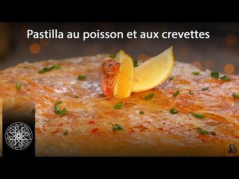 Pastilla au poisson et aux crevettes à la Chermoula