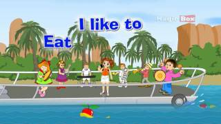 I Like to Eat - English Nursery Rhymes - English Cartoon Nursery Rhymes