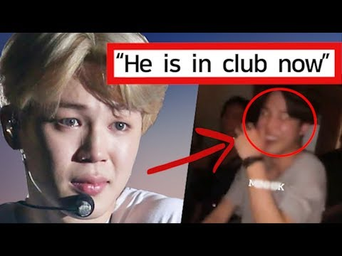 BTS Jimin Suffering Now? Malicious Club Rumor in Paris #LetBTSRest