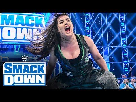 Carmella vs. Cross vs. Brooke vs. Evans vs. Rose vs. Deville SmackDown, Oct. 18, 2019