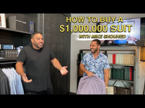 HOW TO BUY A MILLION DOLLAR SUIT WITH MIKE SHOUHED   JOSH ALTMAN   REAL ESTATE   EPISODE #66