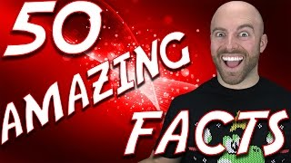 Video 50 AMAZING Facts to Blow Your Mind! #54 MP3, 3GP, MP4, WEBM, AVI, FLV Agustus 2017
