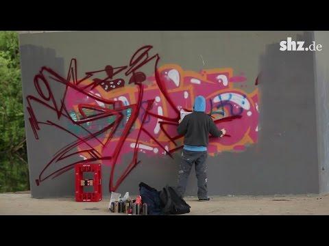 Graffiti-Kunst Kiel: Hier darf ab sofort legal gesprü ...