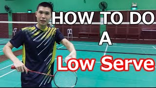 Video How to Do A Consistent, Backhand Low Service | BG Academy MP3, 3GP, MP4, WEBM, AVI, FLV September 2018