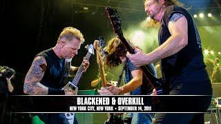 Metallica - Blackened and Overkill (Live - New York, NY) - MetOnTour