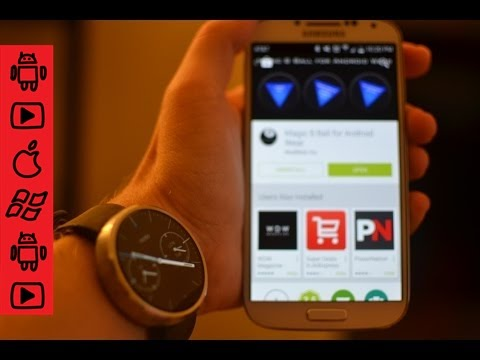 How to install apps on your Moto 360 /  Android Wear Device