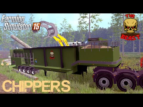 The Beast Heavy Duty Wood Chippers v1.1