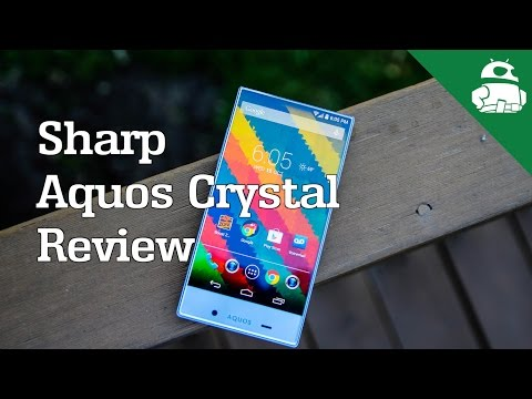 crystal - Lanh takes a look at the Sharp Aquos Crystal for Sprint. It features A Quad-core processor, 8MP camera, Harman Kardon sound a unique edgeless design. Buy fro...