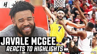 Video JaVale McGee Reacts To JaVale McGee Highlights! MP3, 3GP, MP4, WEBM, AVI, FLV Agustus 2019
