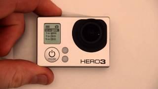 Photo Resolution: GoPro HERO3 Menu and camera setup