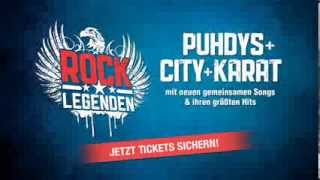 ROCK LEGENDEN - PUHDYS + CITY + KARAT Live 2014 - YouTube