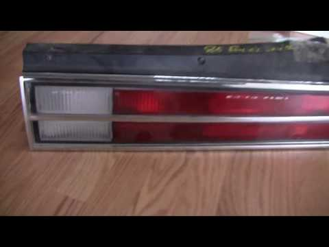 Replacing a Broken Tailight – 1985 Buick Skylark