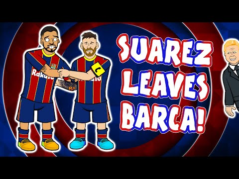 😭SUAREZ leaves BARCELONA!😭 (Song Press Conference Parody)