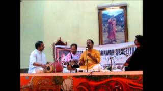 Carnatic Vocal Concert By Dr. Sreevalsan Menon - Part 4