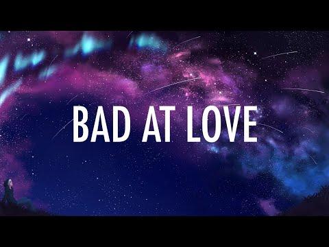 Halsey – Bad At Love (Lyrics) 🎵 (видео)