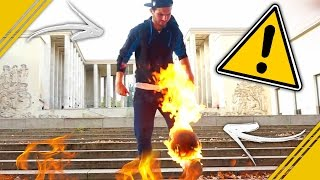 Video FREESTYLE AVEC UN BALLON EN FEU ! MP3, 3GP, MP4, WEBM, AVI, FLV Agustus 2017
