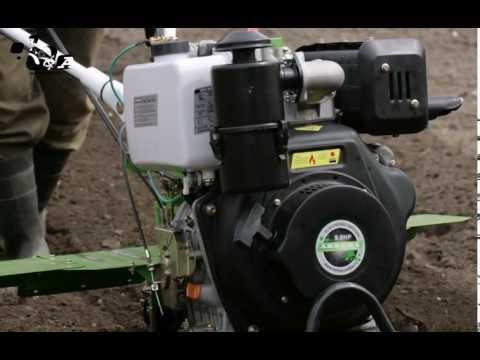 Мотоблок дизельный Aurora SPACE-YARD 1350D PLUS отвечает на вопросы садоводов и дачников