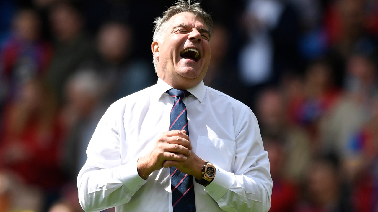 Sam Allardyce reflects on seesaw season after keeping Crystal Palace up – video