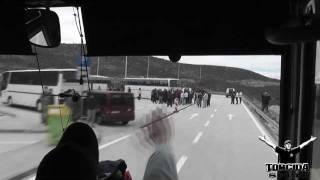Torcida Split :: Dinamo - Hajduk  ( INVAZIJA NA ZAGREB 2011 )