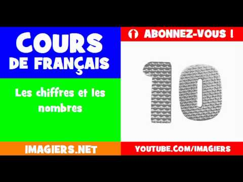 French for children = the numbers
