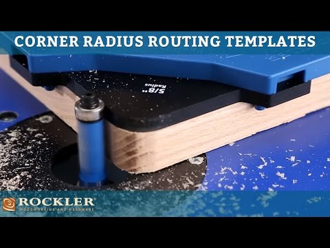 Rockler corner radius routing templates rockler woodworking and rockler corner radius routing templates greentooth Image collections
