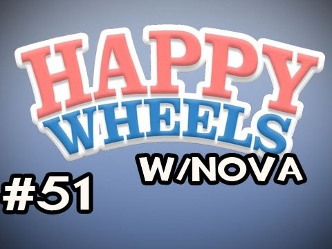 Happy Wheels w/Nova Ep.51 - Dropping Off Little Boy, Saving Other Little Boys Video