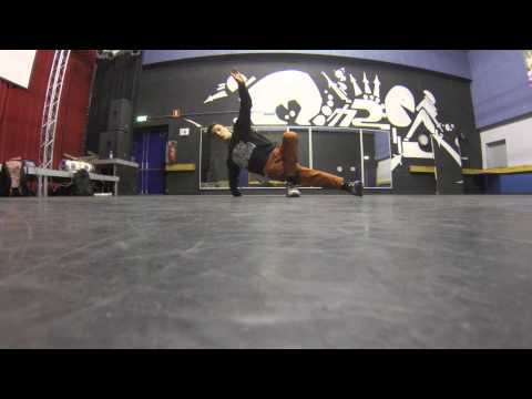Breakdanceles Redo: lage freeze