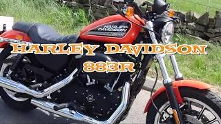 6. Harley Davidson 2010 Sportster 883R  Ride