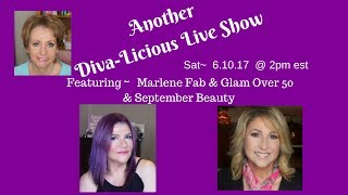 SAVE THE DATE! SAT, JUNE 10, 2017 @ 2PM EST A Diva-Licious Live Show @ YouTube.com/MonikaMcGillicuddyDue to an unfortunate accident, Nathalie TheBeautyDiva will not be able to join us.The Live Stream will be on Monika's Channel:http://bit.ly/2rPi97l(September Beauty) Mandy:http://bit.ly/2kYOnMlHi, Everyone!I hope you can join us for this Live Stream Show!!!!! Monika McGillicuddy has invited Nathalie TheBeautyDiva, Mandy from September Beauty, and me to join her on Saturday, June 10th, 2017 @ 2 PM EST for a Diva-Licious Live Show! If you have any questions for any of us, please feel free to write your questions in the comments. We'll be sure to answer them!!! I am looking forward to seeing you all there!!!!!!!xoxoMarlene💞Visit the fabulous ladies on YouTube:http://ohcarolshow.blogspot.com/▶💄For New Creators:Sub4Sub: Is Sub For Sub Good or Bad?http://bit.ly/2paWckN💜If you love art, stop by my brother's (William Braemer) art gallery in Miami! This video includes a bit of footage from our beautiful Miami!Art Fusion Galleries: ( Luminescent Infusion Opening Night Event, April 26) http://bit.ly/2qeumBu📧Business Inquiries: fabglam50@gmail.com📧📧📧📧📧📧📧📧📧📧📧📧📧📧📧📧📧📧📧📧📧📧📧📧Send Me A Postcard Fab and Glam Over 50125 E Merritt Island CausewaySte 107   #270Merritt Island, Fl 32952#maturebeautieslive  #livestream  #diva-licious