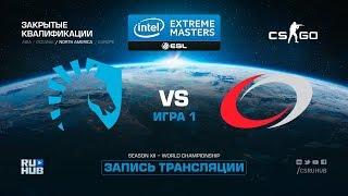 Team Liquid vs compLexity- IEM Katowice Qual NA - map1 - de_cobblestone [yXo, Enkanis]