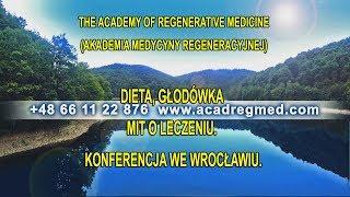 Dieta, głodówka mit o leczeniu. Konferencja we Wrocławiu.