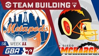New York Metapods Team Building GBA S6 Week 11: VS San Diego Chimchargers by aDrive