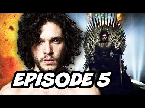 Game Of Thrones Season 7 Episode 5 - TOP 10 WTF and Easter Eggs