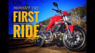 2. 2018 Ducati Monster 797 Review