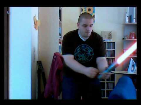Lichtschwert Test FXHome VisionLab Demo