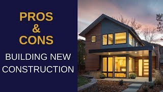 [Video] Pros and Cons of Buying/Building New Construction