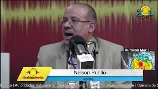 Dr. Nelson Puello informa medidas que han adoptado ante el paso del huracán Maria en el país
