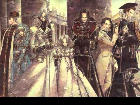 Trinity Blood & Obsidian -12 o'clock