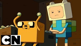 Adventure Time x Minecraft | Diamonds & Lemons | Cartoon Network