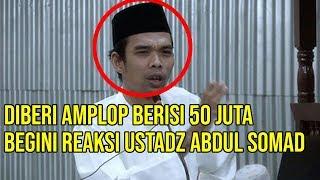 Video Diberi Amplop Berisi 50 Juta, Begini Reaksi Ustadz Abdul Somad yang Bikin Jamaahnya Takjub MP3, 3GP, MP4, WEBM, AVI, FLV Juli 2019
