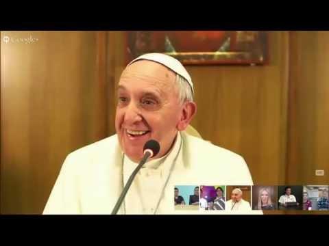 El Papa, en videoconferencia con discapacitados