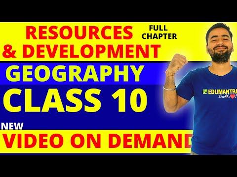 RESOURCE AND DEVELOPMENT (FULL CHAPTER)    CLASS 10 CBSE