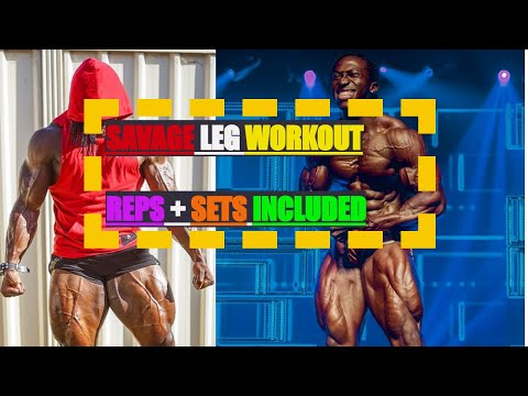 SAVAGE LEG WORKOUT FOR MEN AND WOMEN- THE GRIND WITH KWAME EPISODE 7