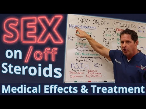 Dr. Thomas O'Connor discusses sexual side effects of steroids.