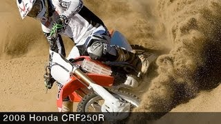 6. 2008 Honda CRF250R - Motocross Bike Test